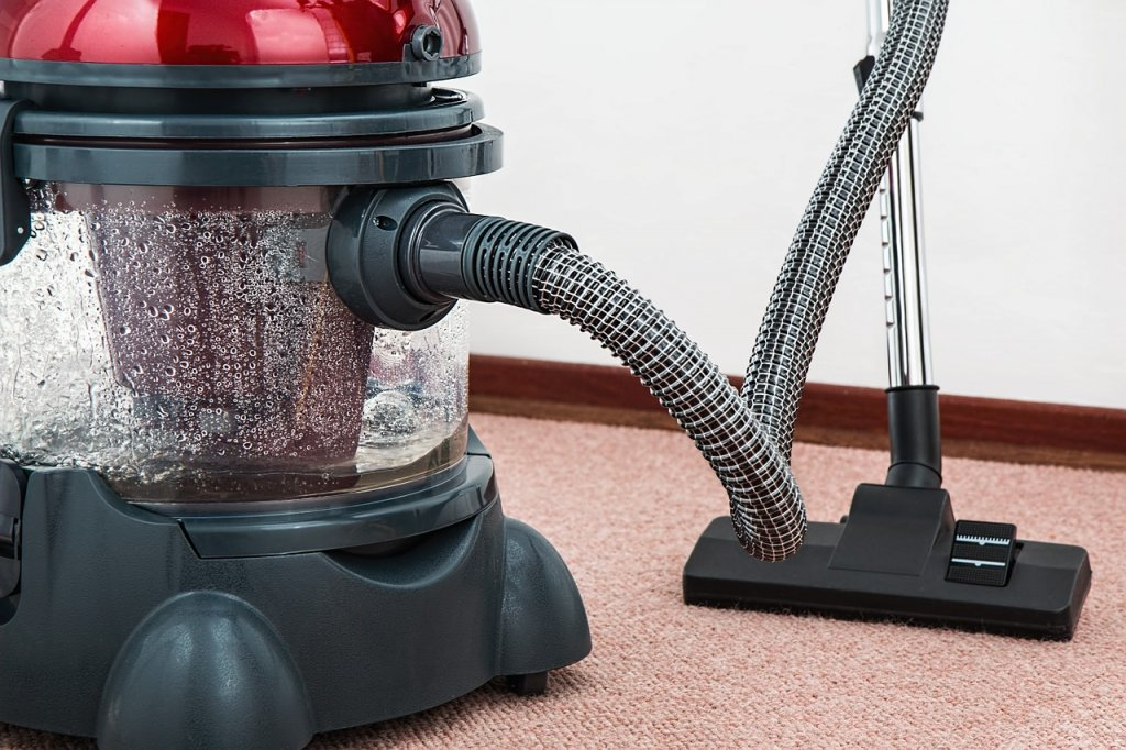 using a vacuum cleaner